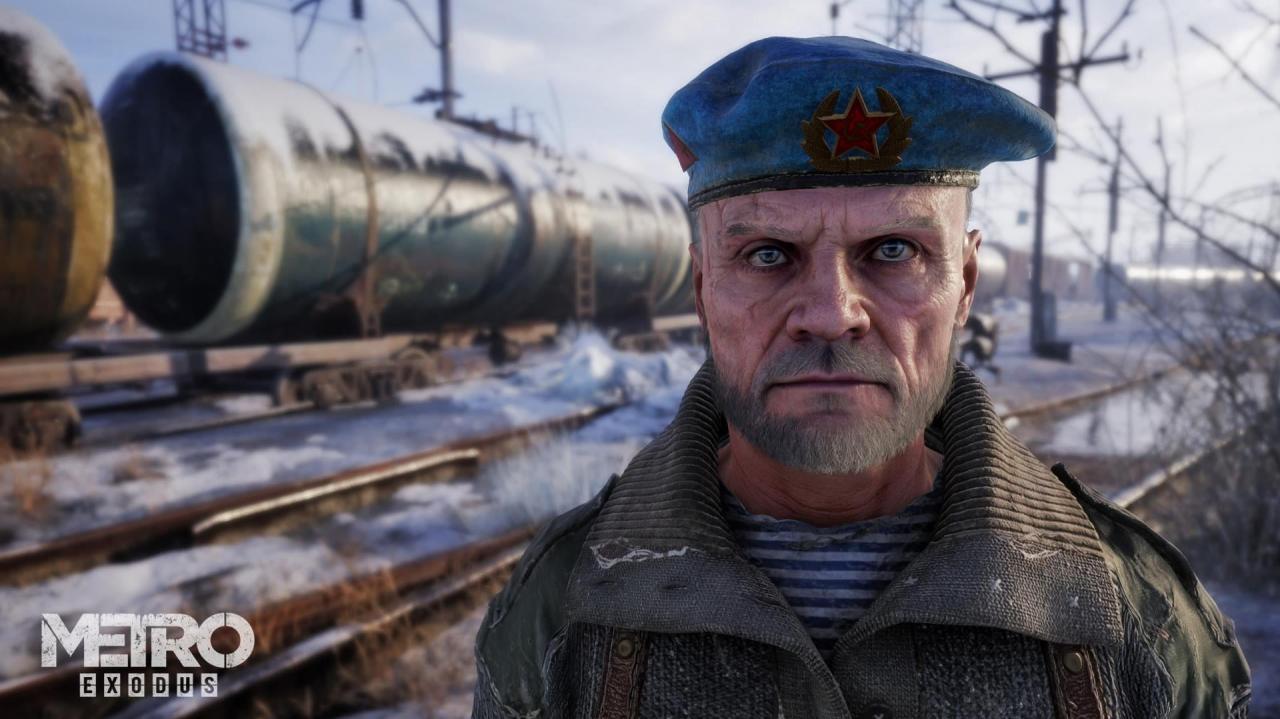 Character art from Metro Exodus