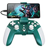 USB C Wired Mobile Game Controller/Emulator & Mobile Game 2 in 1 Gamepad for Android Phone/PC Windows, no Lagging, Built-in 6 Gyro sensors, Asymmetric Motor